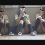 隠撮 JK 学校内 清純パンツ