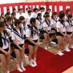 ブルマ入学式