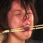 緊縛浪漫09 紅緒が泣く・鼻責め髪吊り苦悶