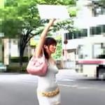 夏休み特別企画!真田リサの赤面羞恥命令ヒッチハイク