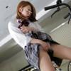 女子校生の自転車のサドルにこっそり媚薬を塗り込んだら