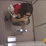 トイレ隠撮 流れない糞尿2