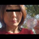 素人投稿 自画撮りシリーズ065 野外浣腸 FILE4