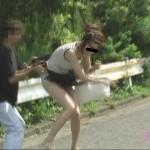 THE・スカート強盗 3 スカートを盗まれた哀れな女・・・