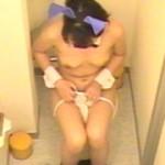 バニーガール洋式トイレ盗撮7