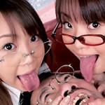 キモおやじとエロカワ少女のベロベロちゅうちゅう