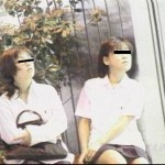すわり&しゃがみパンモロ制服スペシャル(2)