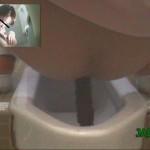 病棟隠撮 新人看護婦和式トイレ