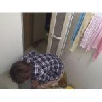 民家盗撮 風呂場で下痢する女たち