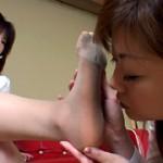 足の匂いを嗅ぐ女達 VOL.1