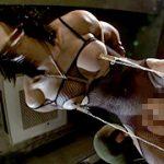 筋肉質なニューハーフが虐められてペニクリがガン勃ち!