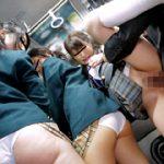痴漢をされても何も言えない女子校生たちを犯りまくれ!