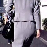 街撮りタイトスカート1