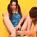 競泳水着の美人モデルを撮影中にセクハラレ●プ