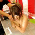 熱湯!!ローション風呂