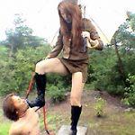 美人奴隷懲罰官物語 反抗奴隷の野外残虐調教