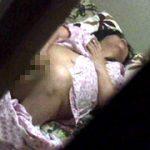 民家のぞき盗撮 偶然撮れた自宅でオナニーする女
