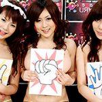 美女集団のSEX野球拳