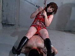 お尻で責める女達 巨尻あっぱく拷問責め