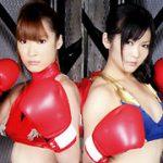 ボクシング対決。敗者決定戦01