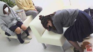 待合室で見た うんこ漏らし女!2