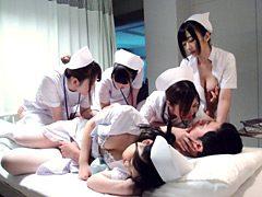 美人看護師に夜な夜な強制射精されてしまった俺