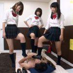 女子校生やりすぎ足踏みマッサージサロン