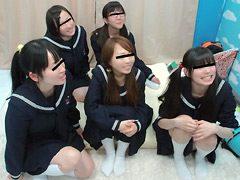 田舎から東京にやって来た修学旅行生9