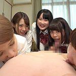 女子○生5人が僕の家に遊びに来て誘惑してくる。