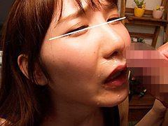 【スク水×イラマ顔射ぬりぬり】