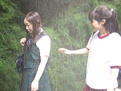 雨の日の登下校